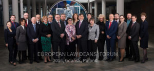 European Law Deans' Forum 2016